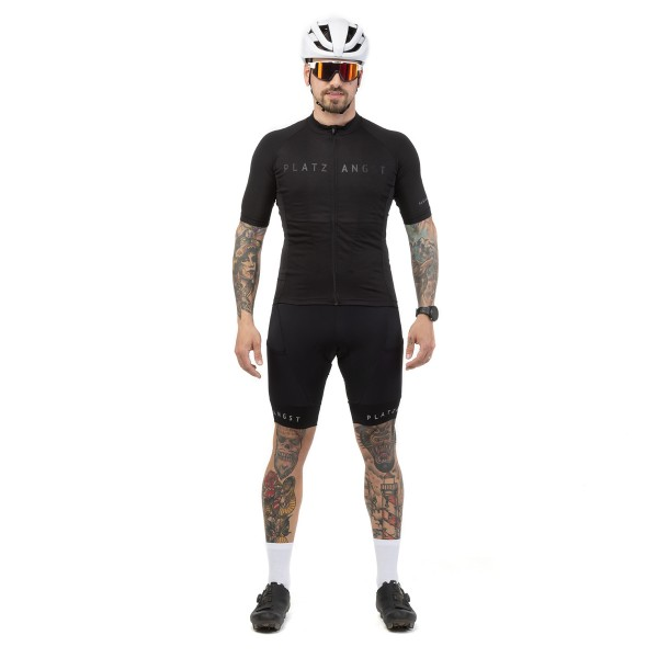 Cargo Bib Shorts schwarz