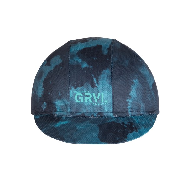 GRVL Cycling Cap blau